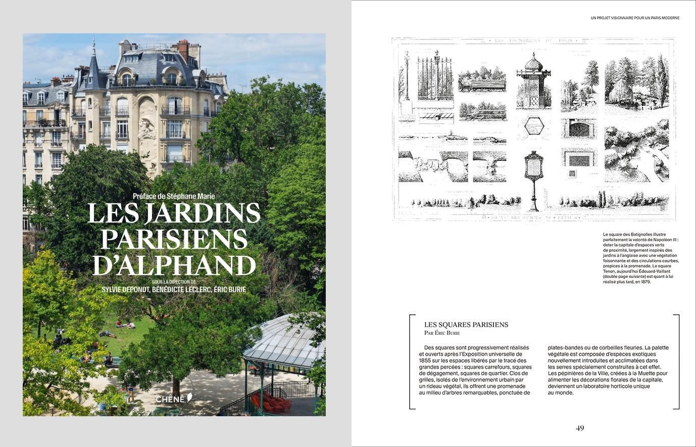 Les jardins parisiens d\'Alphand